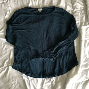 Teal Long Sleeve shirt from Old Navy